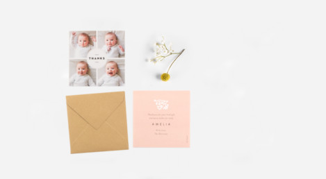 Baby Stationery Samples