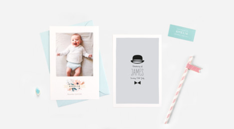 Christening Stationery Samples