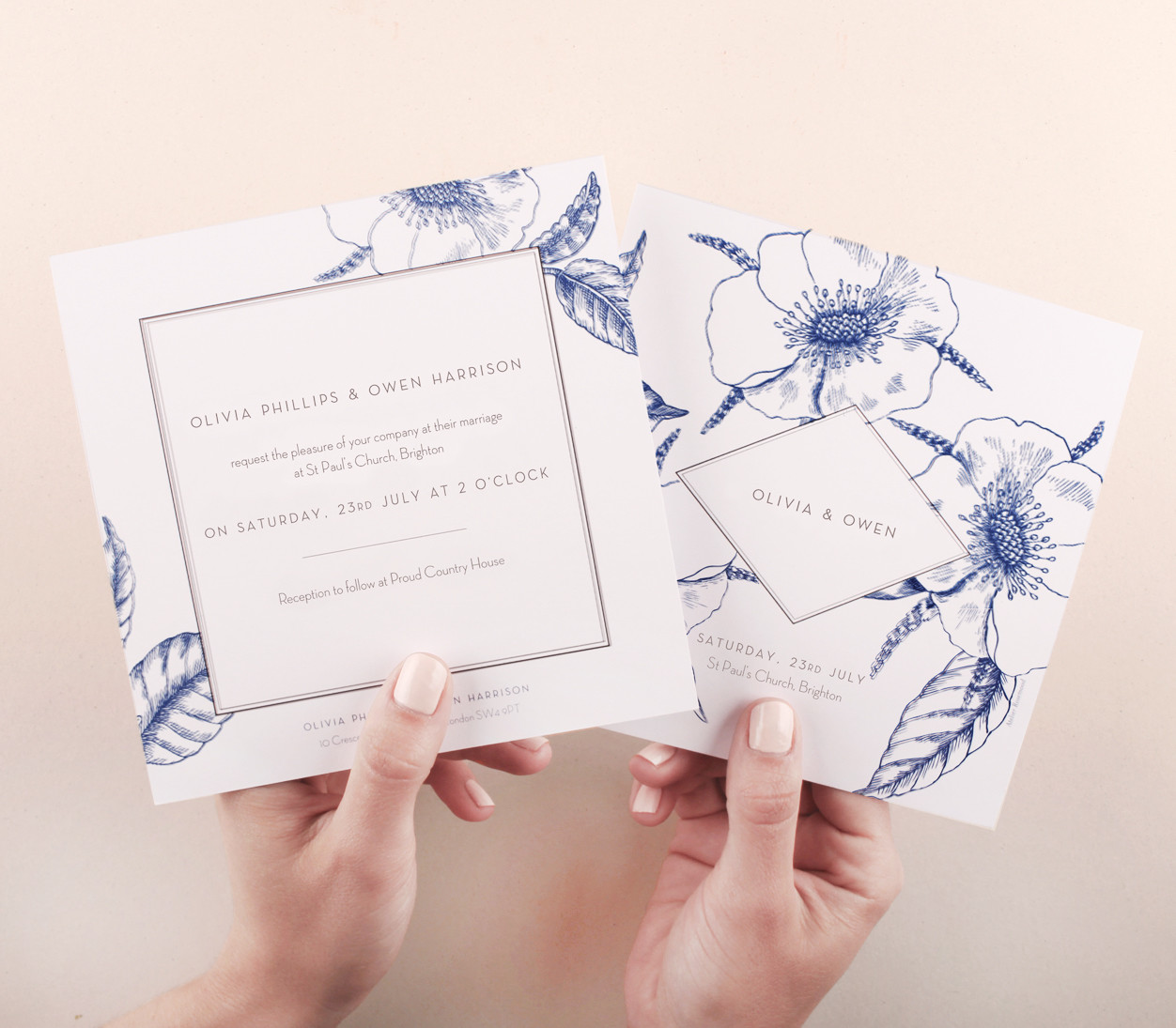 Wedding stationery quality control