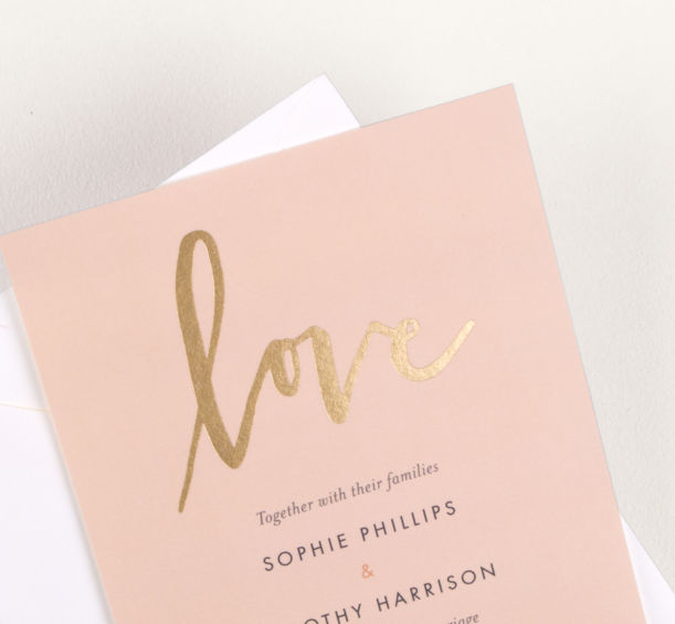 Personalised stationery created just for you by the Atelier Rosemood