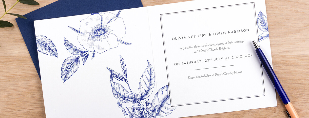 Traditional Wedding Invitation Wording Ideas | Rosemood