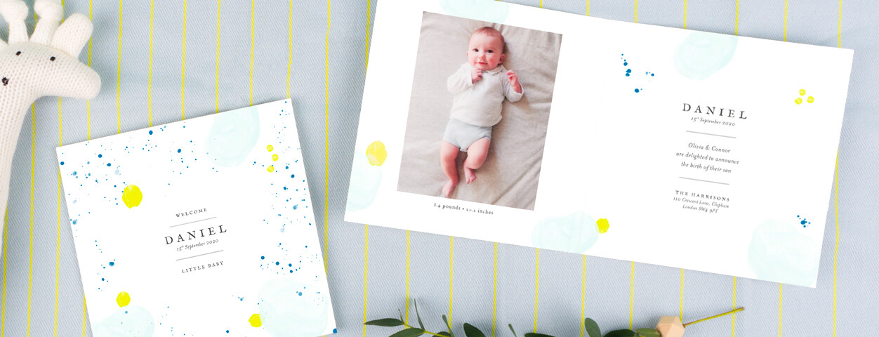 Baby Announcements from Rosemood
