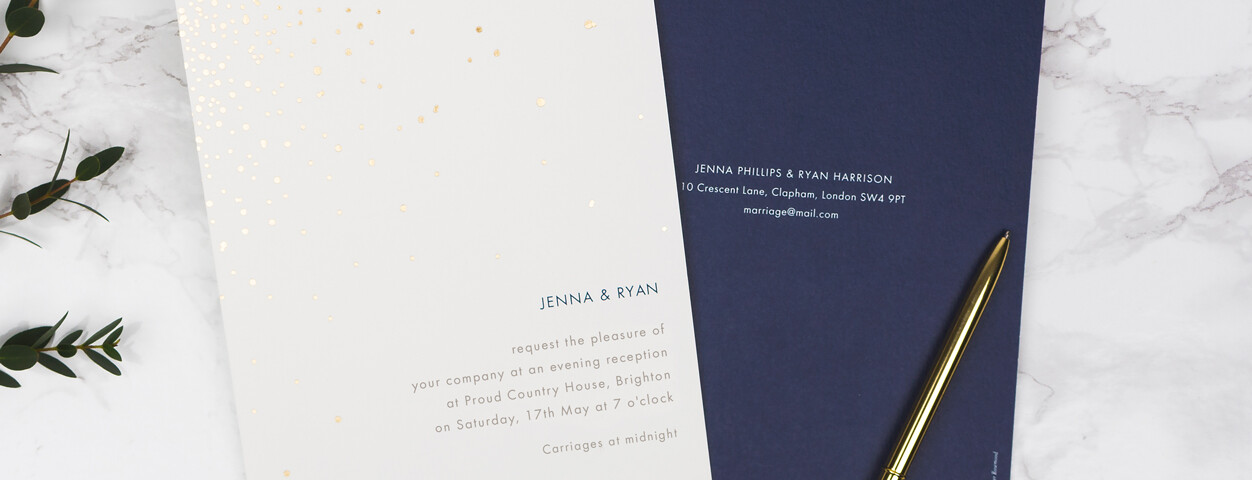 Wording Of Wedding Invitations: Evening Wedding Invitation Wording Ideas
