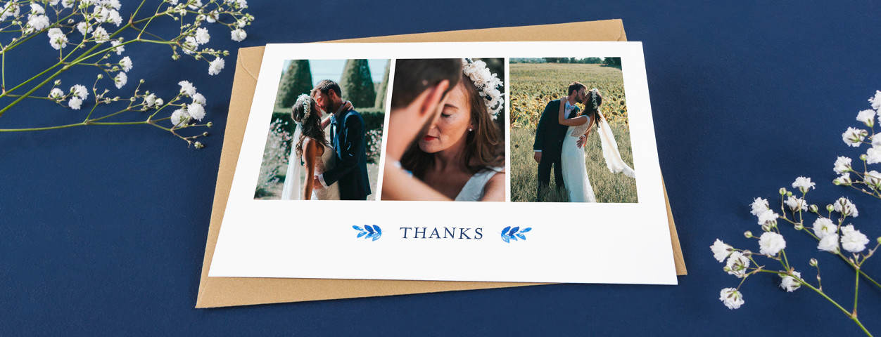 Personalise Your Wedding Thank You Cards From Rosemood