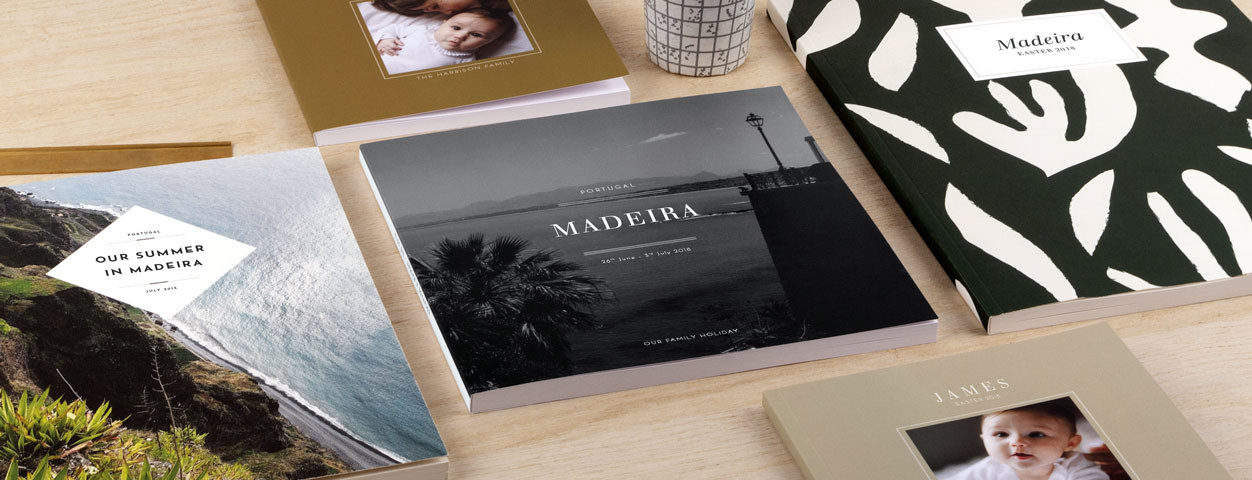 Chic and modern designs for your photo books