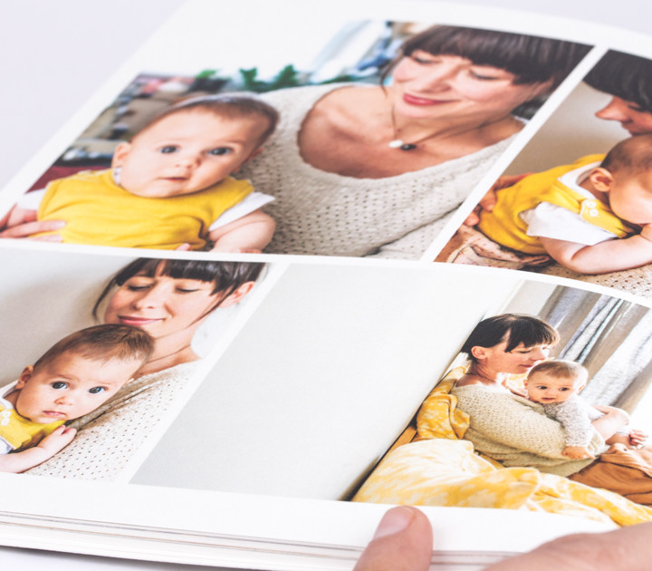 Checking your personalised photo books