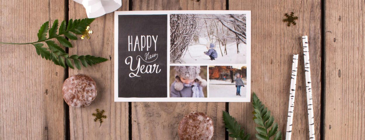 Create personalised Christmas cards from Rosemood