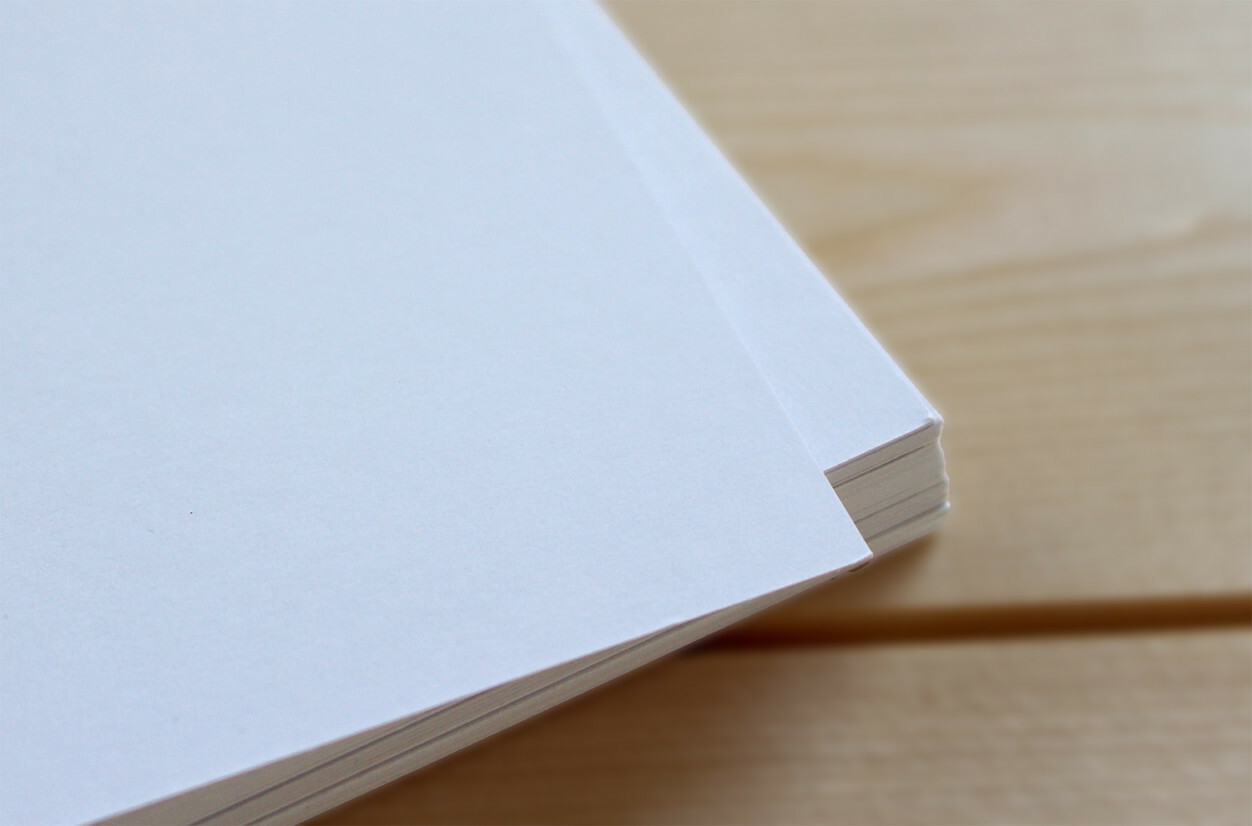 Smooth Matte Paper for your personalised stationery