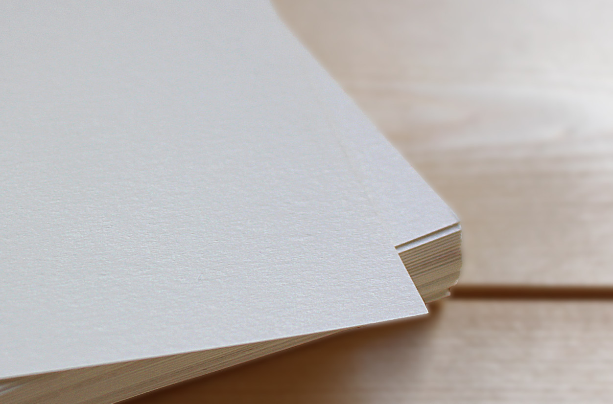 Lightly Textured Ivory Paper for your personalised stationery