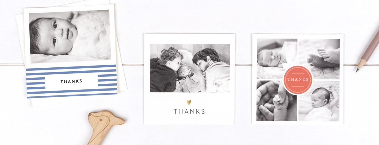 What To Write In Baby Thank You Cards From Rosemood