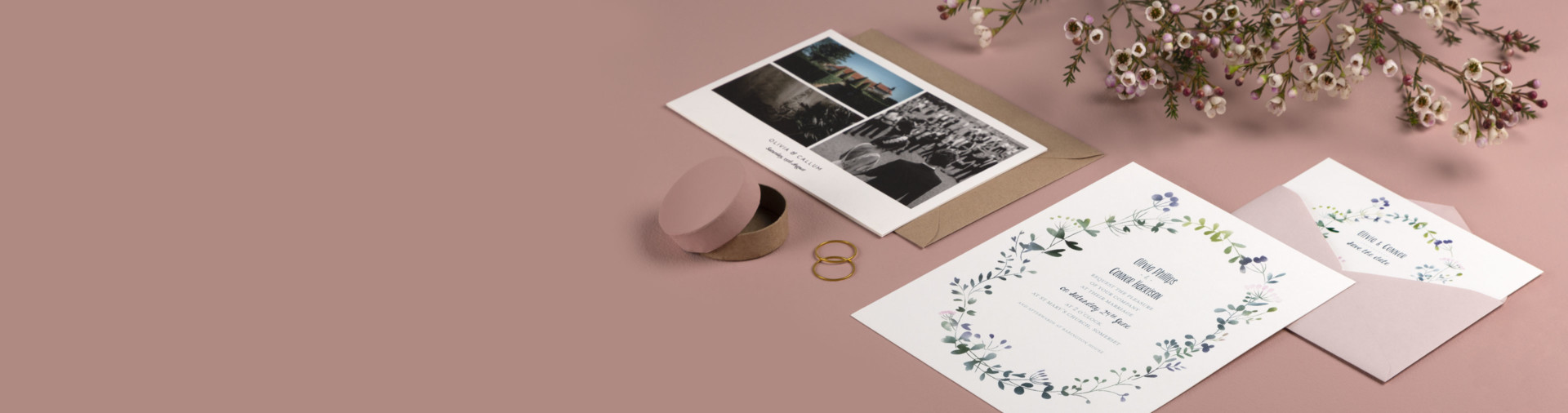 Wedding invitations and Photo Books