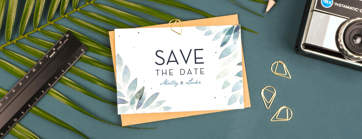 Save the date ideas from Rosemood