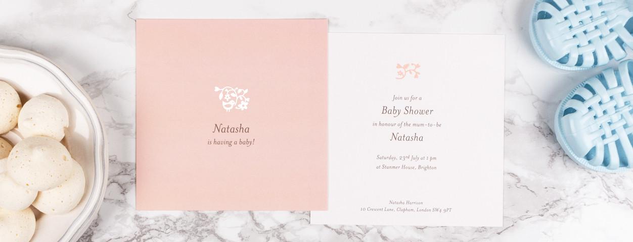 Baby Shower Invitation Wording Ideas Rosemood
