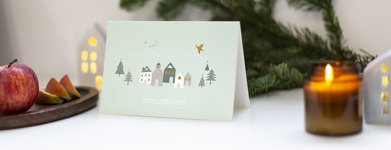 Charity Christmas cards from Rosemood